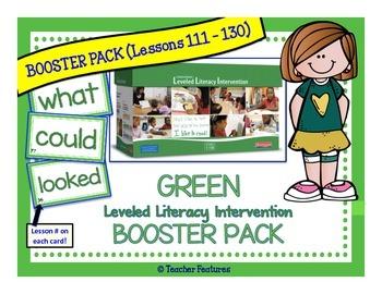 Green Leveled BOOSTER Literacy Intervention Kit LLI (1st Edition)
