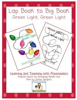 Green Light, Green Light Lap Book to Big Book