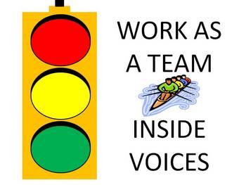 Green Light to Work as a Team Traffic Signal