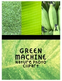 Green Machine Clipart (For Personal or Commercial Use)
