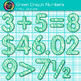 Green Math Numbers Clip Art {Great for Classroom Decor & Resources}