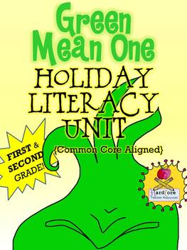Green Mean One Holiday Literacy Unit Common Core FIRST GRADE SECOND GRADE!