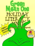 Green Mean One Holiday Literacy Unit Common Core FIRST GRA