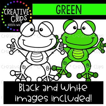 Green Objects Clipart {Creative Clips Clipart}