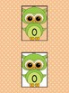 Green Owl Full Page Math Number Posters 0-100