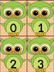 Green Owl Math Number Flashcards 0-100