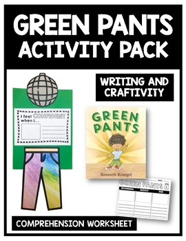 Green Pants Craft and Activity Pack