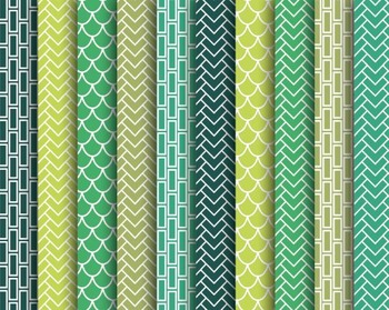Green Papers, Digital Papers, Green Paper Set #138