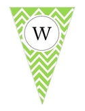 Green Pennant Welcome Banner
