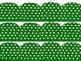 Green Polka Dot Borders