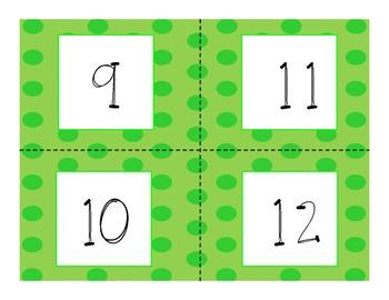 Green Polkadot Calendar