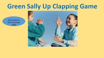 Green Sally Up Clapping Game