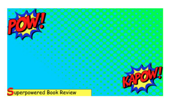 Green Screen Book Review - with Do Ink! (EDITABLE)