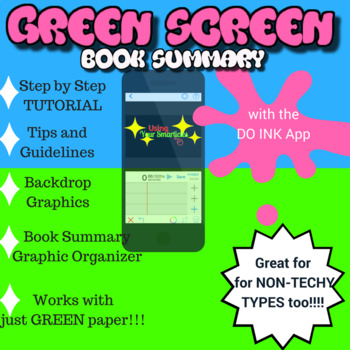 Do Ink:  Green Screen Book Review (with superpowers)