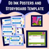 Green Screen Posters & Storyboard Template for Students Us