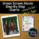 Green Screen Step-By-Step Charts