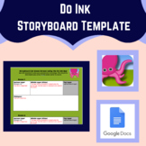 Green Screen Storyboard Template for Students Using the Do
