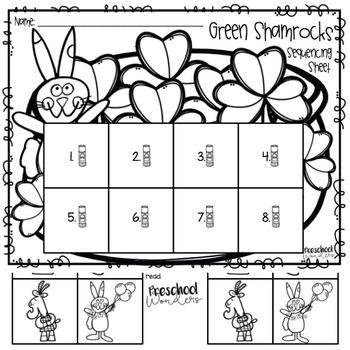 Green Shamrocks Retelling Pack