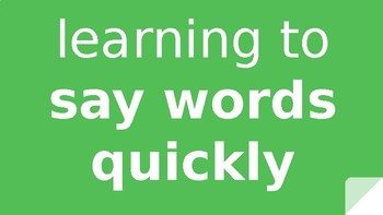 Green Sight Words Slide Show