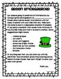 Green Smorgasbord! {A St. Patrick's Day FREEBIE}