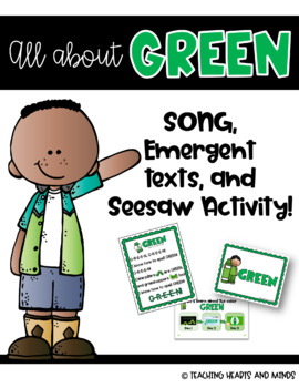 Green Song and Emergent Readers!