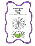 Phonics: ---ing sound. Matching Game and Word Book