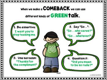 Green Talk vs. Red Talk