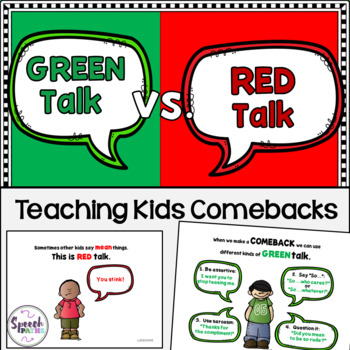 Green Talk vs. Red Talk