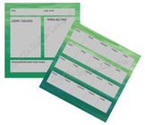 Green Teacher Planner Set
