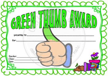 Green Thumb Award