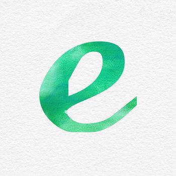 Green Watercolor Font