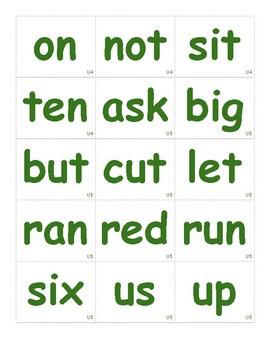 Green Words Kinder - CKLA