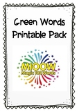 Green Words Pack
