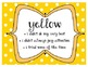 Green Yellow Red Behavior Poster