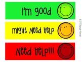 Green, Yellow, Red Behavior Visuals