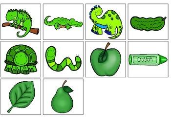 Green-an interactive color book