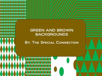 Green and Brown Backgrounds