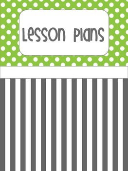 Green and Gray Binder Covers