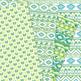 Green aztec Digital Paper arrows tribal patterns lime scrapbook background