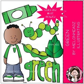 Green clip art - Mini - by Melonheadz