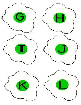 Green eggs and ham beginning sounds