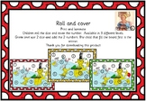Green eggs and ham inspired roll and cover
