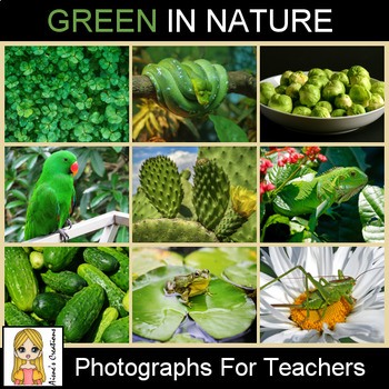 Green in Nature Photograph Pack