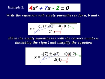 Greenebox Lecture: Quadratic Formula
