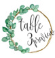 Greenery/Eucalyptus Table Numbers Wreath