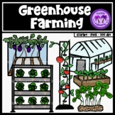 Greenhouse Farming Clipart (Vertical Farming)
