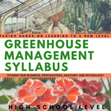 Greenhouse Technology Management Course Syllabus