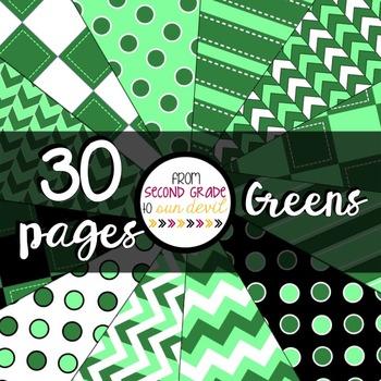 Greens Digital Paper