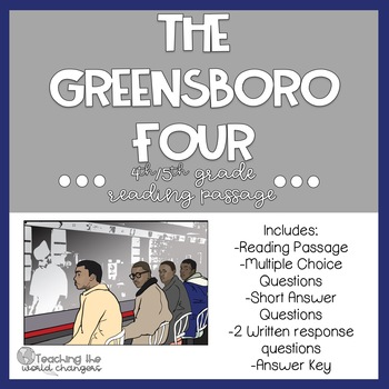Greensboro Four Reading Passage