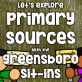 Free! Primary Source - Greensboro Sit-ins - #kindnessnation #weholdthesetruths